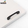 Hettich (Hettich) 24626 одежды шкаф ящик ручки мебельные ручки дверей установлены шаг черный 64