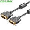 CE-LINK DVI (24 + 1) HD-кабель 5 м HD Видеокабель Компьютерный телевизор с высоким разрешением Проекционная линия Черный 1874 телевизор