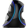 Красочный (Delux) M618Plus проводной оптической игровой мыши офис вертикальной монохромный синяя Standard Edition delux
