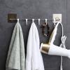 [Супермаркет] Jingdong дом двойной праздник присоска крюк ванной полотенце крючки дверь ванной сзади крючками бесплатно буровая установка следа SQ-5057 крючки настенные мультидом планка 5 крючками ромашка