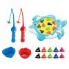 Мама и папа (babamama) рыбалка пруд рыбалка игрушки электрические роторные раннего детства обучающие игрушки с музыкой рыбалки игрушки DQ6007