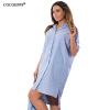 Cocoepps Лето г. нерегулярные платье большой Размеры свободные женское платье Повседневная Большой Размеры женская одежда