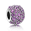 925 PANDORA Pandora пурпурных тонов роса серебряной струны украшение 791755CFP цена 2016