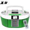 все цены на  Panda (PANDA) CD-820 CD машина магнитофоны видео машины пренатальной машина DVD-плеер рекордер магнитофоны радио карты MP3 аудио (красный)  онлайн