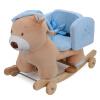 Blue Castle Детской двойная музыкальной качалка лошадь лошадкой качалка лошадь квадратных Детеныши дети в возрасте подарка на день рождения
