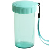 цены Tupperware (Tupperware) элегантное пластиковое сердце и небольшая герметичная чашка с переносной трос 310 мл мяты синего цвета
