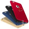 Телефон Чехол для iPhone 6 6s Ultra Тонкий Slim Обложка Простой PC Back Ring Holder 360 ° Защита вращения для iPhone 6 6s чехол котик snow для iphone 6 6s