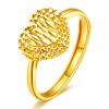 Проводит рентабельность возлюбленного 18k золотых колец женской обручальное свадебный подарок ювелирных изделия признания