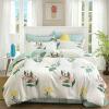 Ин Xin текстильной хлопок постельное белье, семьи с высокой плотностью четыре хлопка постельное белье люкс двукратное увеличение 1,5 / 1,8 м кровать Jin Shang (синий) постельное белье адель постельное белье сокровище персии 2сп