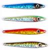 2PC Jigging Fish Lead 35G / 8CM Metal Jig Рыболовные снасти 4 цвета Paillette Knife Wobbler Artificial Hard Bait