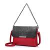 женская сумка кроссбоди с крокодиловым принтом, вечерний клатч из PU кожи для женщин, женская сумка мессенджер  цена и фото