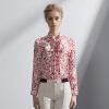 Ruibi Ka (Marc Rebecca) рукава рубашки печати шелковой блузка лук 72003T белая печать код M marc cain блузка