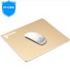 IT-CEO X421T большой алюминиевый коврик для мыши толстый алюминиевый металл и жесткий игровой коврик для мыши бизнес-клавиатуры для офиса Настольная коврик для мыши 25X20cm Золото тирана