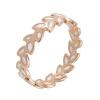 Yoursfs @ Luxury Wheat Shape Big Rings для женщин yoursfs love monologue new style trendy green imitation onyx cz butterfly rings