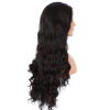 Long Wavy Glueless Full Lace Human Hair Wigs Natural Color Curly Hair 65cm cosplay wig lady long wavy hair full wigs party 3 colors