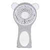 Времена квадратного USB вентилятор немой мини портативный перезаряжаемые ручной вентилятор мультфильм медведь деньги серого портативный вентилятор в минске