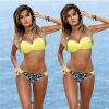 CANIS @ Women Bikini Set Купальник Пляжная одежда Купальники отжимают монокини Бюстгальтер Купание элитный купальник монокини из колумбии купить