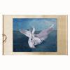 Xunyiji Прекрасные вышивки картина «лебедь» ручная работа, домашний декор, подарки