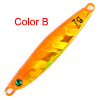 1PC Fishing Lure Lead 7g Lead Fish No Hook 5 Color Fishing Bait Кастинг Приманка Рыбалка Снасти