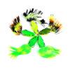 1pc / lot рыбная приманка для рыбной ловли высокого качества 5 цветов рыболовная приманка 4cm / 8g рыболовная снасть г де во пскове рыболовная снасть типа кораблик