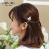 Химера (CHIMERA) Небольшие украшения для волос камня оправки гребень верхней прижим Золота гребни bizon гребень диадема заколка