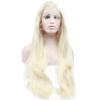Anogol длинный Loose Wave Glueless жаропрочных волокон натуральных париков волос светловолосый синтетический кружева фронта парик anogol glueless синтетический парик фронта шнурка long body wave brown high temperature теплостойкие волоконно париков