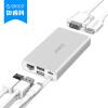 ORICO ADS2 Разделитель типа C Многофункциональный док-концентратор HUB Apple Wind USB3.0 / RJ45 / HDMI / VGA-адаптер Silver кран разделитель клапан адаптер раковине для садового шланга адаптер новых