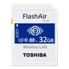 Toshiba (TOSHIBA) 32G FlashAir четвертого поколения беспроводной локальной встроенной У3 карта памяти SDHC Class10 карта памяти other 32g 500 dhl tf 32g