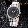 Женские часы 2017 Марка Роскошные моды Кварцевые женские часы Plaid Часы Розовое золото Циферблат платья Случайные наручные часы