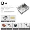 HIDEEP 304 из нержавеющей стали, кухонная раковина и ручная работа из нержавеющей стали производители кухонной раковины