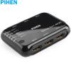 Постоянный продукт (PIHEN) Определение PH-FPQ002 HDMI диспенсер 1 в два 2K * кИ в два-экране цифрового видео проектора подключен к ноутбуку постоянный продукт pihen определение ph fpq003 hdmi диспенсер 1 в два 2k 4k видео в разделенном экране два цифровых видео с экраном черным hdmi1 4