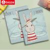 BIAZE Apple Ipad MINI3 Mini2 защитного рукав защитной оболочки кобуры mini1 умного мультфильм сна серия шлет кролик картины biaze зарядник iphone4 4s ipad3 2