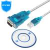 IT-CEO Y1RS-1 9-контактный последовательный кабель DB9 RS232 линия COM мама-мама линии 9 - отверстие линии пересекающиеся, используемые для цифровой машины / PDA / Бергиш цветной штрих-код и т.д. rs 232 кабель в челябинске