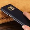 KONELТуше удобно кожа телефон защитный чехол маленький овчина защитный чехол применим к самсунг S7 edge