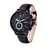 BHOLI SI 8211 Модные хронографы Кварцевые часы с кожаной сумкой