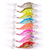 1шт Ball Crankbait Bass Baits 8cm-3.15 /9.38gg-0.33oz Crank Fishing Lures 8 Цвет 4 # Крючок Рыбалка Снасти