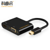 CABLE CREATION Mini DP to VGA / HDMI Combo Converter Apple macbook Lightning Interface Mini Displayport Adapter 4K Black CD0164 3 in 1 mini dp displayport to hdmi dvi vga display port cable adapter for apple macbook pro