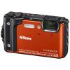 Nikon Nikon COOLPIX W300s водонепроницаемый, ударопрочный (удар), холодостойкие, пыленепроницаемый цифровой фотоаппарат (оранжевый)