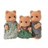 Японские бренды Senbei ребенок семья девочка принцесса кукла дом имитационные игрушки Sylvanian Families играть дома стекаются дом куклы куклы - медведь семьи SYFC14248