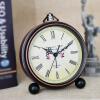 Vintage Alarm Clock Analog Student Retro Silence No Ticking Desktop Clock Large Numerals Display Clock Loud Alarm Table Clock clock