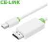 все цены на CE-LINK Mini DP HDMI кабель 2 м Дисплей HDTV линия мини дп к HDMI кабель, подключенный к порту молниеносной Macbook проектор 1045 онлайн