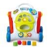 Tego (DIGO ребенок музыки многофункциональных ходунки ходунки тележка RollOver Детский развивающие игрушки звука и свет DG3660 ходунки
