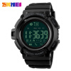 SKMEI Bluetooth Smart Watch Men Sports Watches Pedometer Calories Chronograph Fashion 50M Waterproof Digital Wristwatches 1245 smart digital wristwatches pedometer sports wristband watch male and female temperature display students usb watches