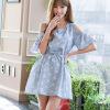 LAXJOY просторное платье в мелкий цветочек мелкий бизнес