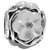 925 PANDORA Pandora яркий цветок серебряный перламутровый браслет из бисера украшения строка 791894MOP кольцо pandora 925 silverring charm