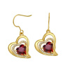 Yoursfs@ Romantic Heart of Shape Promise Dangle Earrings For Women Vintage Earring Jewelry Christmas Gifts Online Shopping India yoursfs romantic heart of shape promise dangle earrings for women vintage earring jewelry christmas gifts online shopping india