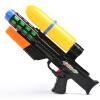 Мама и ребенок (бабамама) детский водный пистолет игрушки летний открытый пляж вода высокого давления струйка 45 см большой тянущий водяной пистолет B2009 черный