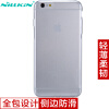 Нил Gold (NILLKIN) Apple 6splus / iPhone6plus ТПУ прозрачный мягкий чехол / защитная крышка / мобильный телефон устанавливает белый