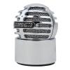 SAMSON (Метеор) Метеоритный сферический мини-USB-конденсаторный микрофон Настольный компьютер для настольных систем записи Silver wh гибкий usb светодиодный книжный светильник портативный супер яркий led свет для power bank компьютер настольный компьютер 2pcs