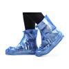 Потяните назад сапоги дождя наборы мужчин и женщин взрослый дождь водонепроницаемый нескользящий набивной чехол для обуви HXL227 кофе 3XL потяните назад сапоги дождя наборы